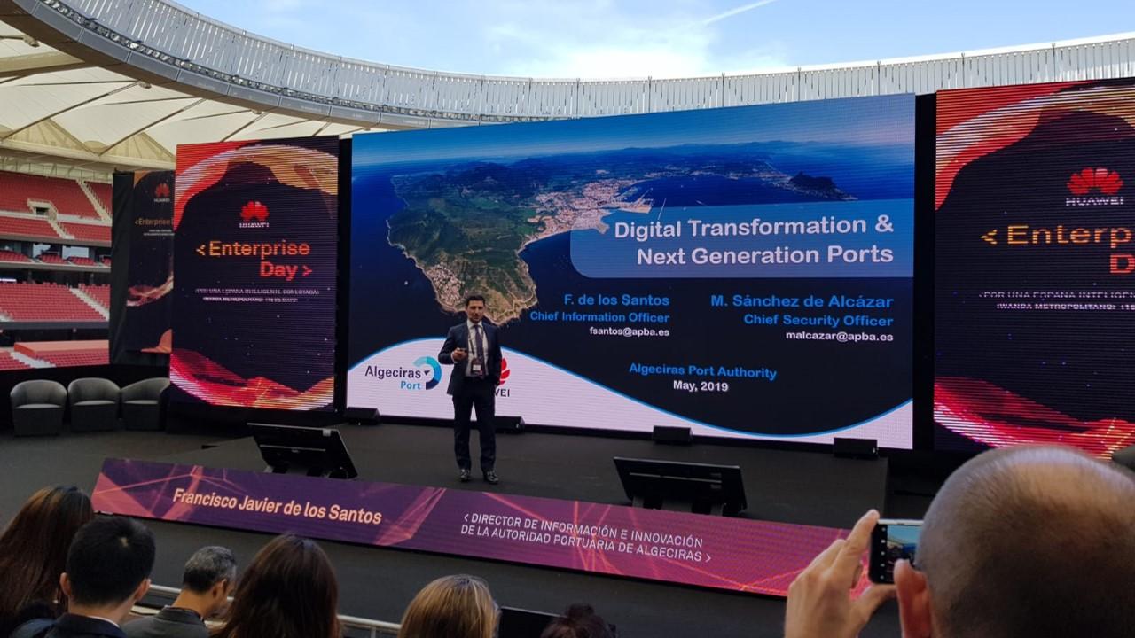 El Puerto de Algeciras participa en el Huawei enterprise day