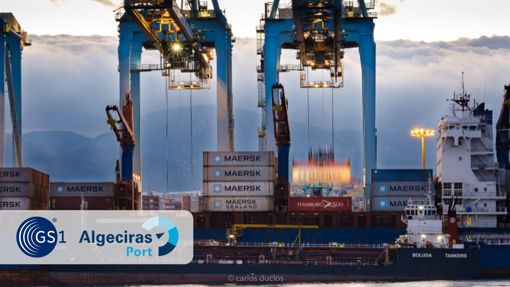 El Puerto de Algeciras se asocia con GS1 para utilizar sus estándares globales