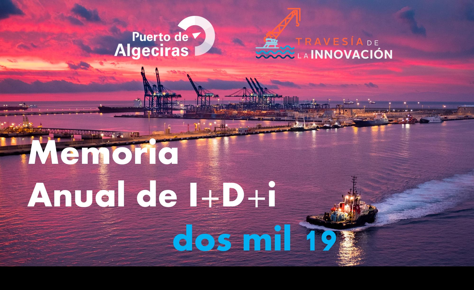 Memoria Innovación I+D+i Puerto de Algeciras