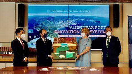 espo award algeciras port innovation